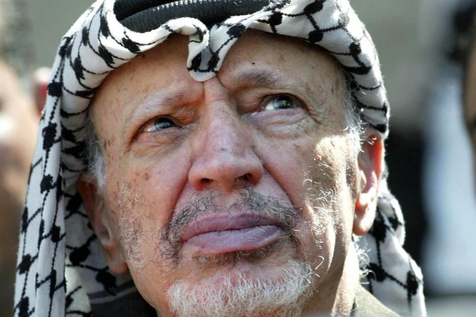 Yasser Arafat | thoughts go BOOM
